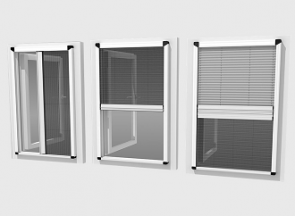 Flyscreen & Pleated Flyscreen Profiles